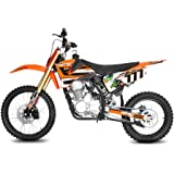 "Dirtbike Hurricane 250cc 5-Gang Manuel 19""/16"" E-/Kick-Start Bike Quad ATV Bike Pocket Kinderbike Kinder"