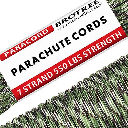 Brotree 31m Paracord Cuerda Paracaídas Nylon 550
