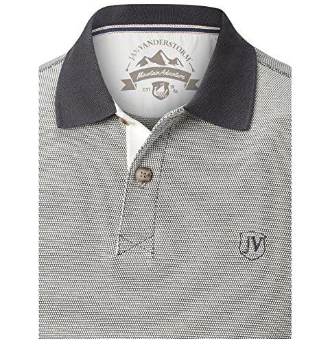 JAN VANDERSTORM Herren Poloshirt NORDBERT in Übergröße | Große Größen | Plus Size | Big Size | XL - 7XL Beige
