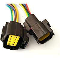 1 Set 8 Pin funivia Ingegneria impermeabile legare elettrico Connettore con cavo