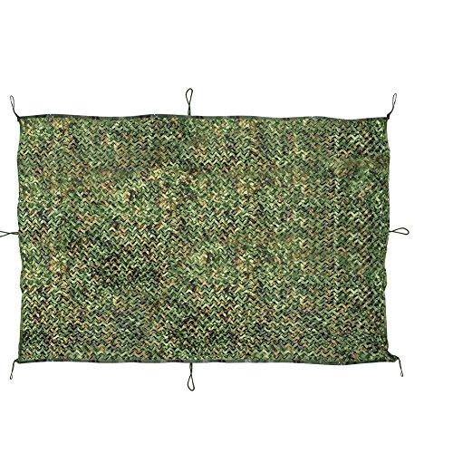 Jtdeal Tarnnetz Tarnung Netz Sonnenschutz Sichtschutz für Camping Bars Jagd Party, 2m*3m (Camouflage-uniformen Militärische)