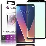 NALIA skyddsglas kompatibel med LG V30, 3D Full-Cover Displayprotector Mobilfolie, 9H hård glasskyddsfolie skärmskydd, skydds