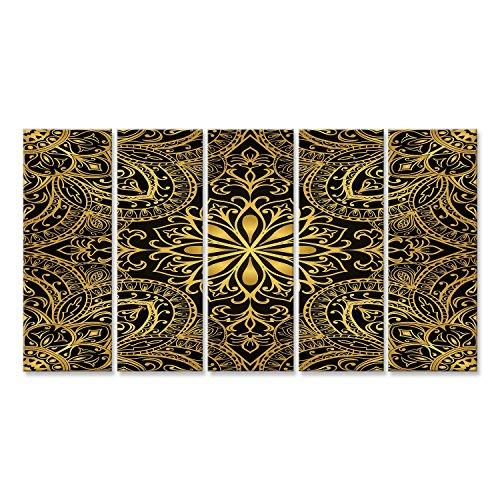 Cuadro Cuadros Impresión sobre lienzo - Formato Grande - Cuadros modernos Mandala de budismo patrón
