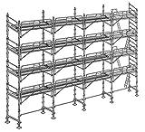Altrad Echafaudage Façadier 130 m² - Complet
