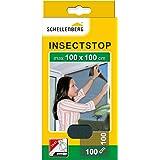 Schellenberg 50711 nylon horrengaas, muggen en insectengaas inclusief bevestigingstape, bevestiging zonder te boren, 100 x 10