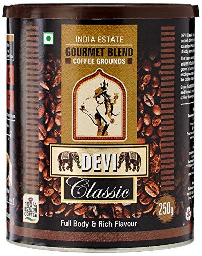 DEVI Classic Gourmet Blend Coffee Grounds, 250g