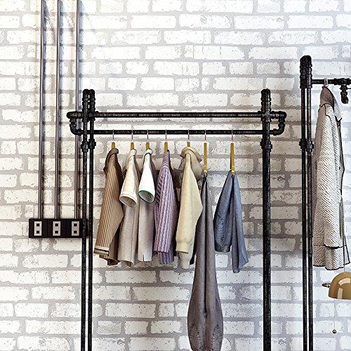 JSLCR Retro 3D Backstein Muster Tapete, einfache modische Damenbekleidung Shop Tapeten dekorieren