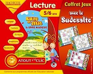 Salto et Zelia Lecture Le livre magique + Sudosalto