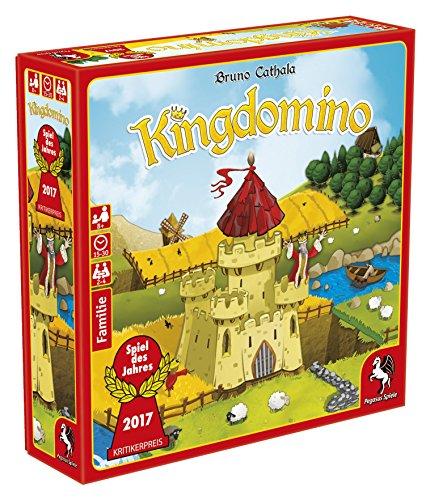 Pegasus Spiele 57104G - Kingdomino Spiel des Jahres 2017