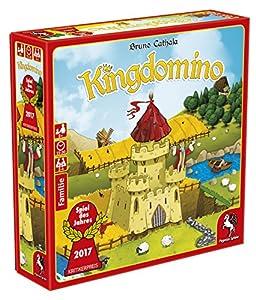 Pegasus Kingdomino, Brettspiel Estrategia - Juego de Tablero (Brettspiel, Estrategia, 15 min, 30 min, 8 año(s), Alemán, Multicolor)