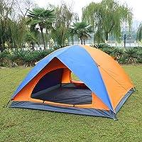 2-3 tenda esterna-4 persona doppio campo pioggia-prova UV-campeggio camping,una doppia + 3-4 luce tenda