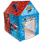 #3: Marvel Spiderman Play tent house for kids of age 3 to 8 years in handle box packing for easy storage Premium quality certified as EN 71 European standard safe for child indoor outdoor toys for kids development toys Includes Pipes Pipe locks Tent