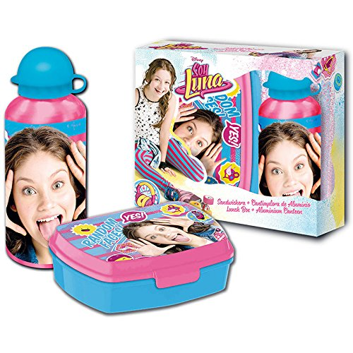 Disney Soy Luna Brotdose und Aluminium Trinkflasche - Disney Aluminium-trinkflasche