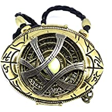 **PREMIUM QUALITY** Dr Strange Eye of Agamotto Medallion. Free GIFT Bag with all orders **Rare ** Marvel True Fan (PREMIUM QUALITY Eye of Agamotto Medallion Type 2 Glows in Dark)