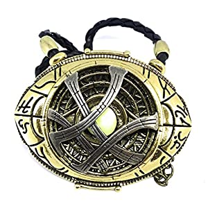 **PREMIUM QUALITY** Dr Strange Pendent/Medallion GLOWS in DARK Eye of Agamotto Pendent** Free GIFT Bag with all orders **Rare ** Dr Strange's Medallion