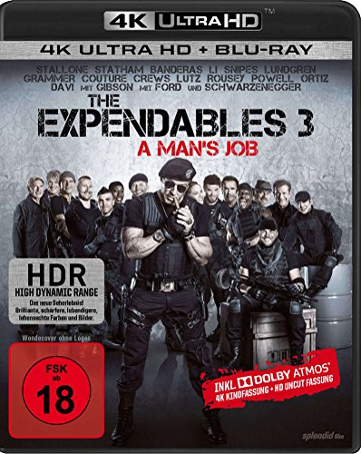 Bild von The Expendables 3 - Uncut  (4K Ultra HD) (+ Blu-ray)