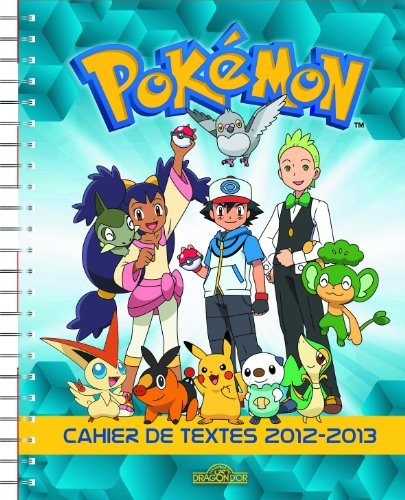 Cahier de Textes Pokémon
