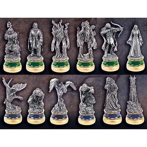 El Señor de los Anillos - Las dos torres - Juego de figuras ajedrez