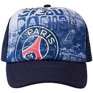 PSG–Collection officielle Paris Saint Germain Cap–Adjustable size