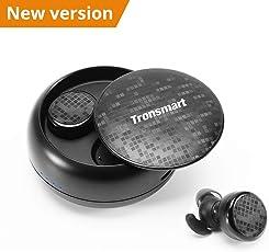 Bluetooth Kopfhörer,Tronsmart Kabelloses Bluetooth Headset 12H Playtime 3D True Wireless Stereo Minikopfhörer Bluetooth 5.0 IPX5 Sport Wasserdicht und Touch Control Bluetooth earburds, Kabellose In-Ear Kopfhörer mit Ladegehäuse und Integriertem Mikrofon für Android und iPhone usw.