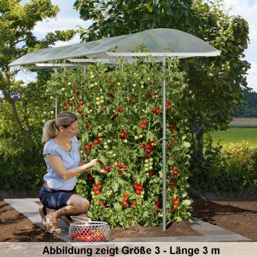 beckmann kg psn1 tettoia per orto per riparare le piante dal sole e dalle intemperie misura. Black Bedroom Furniture Sets. Home Design Ideas