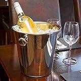 bar@drinkstuff Tulip Wein Eimer Edelstahl Wein Eimer, Sektkühler, Weinkühler, Flaschenkühler, Flasche Chiller, Ice Bucket - 3