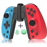 JOYSKY Manette sans Fil Bluetooth Pro pour Nintendo Switch, 6 Axes Manette Pro Switch de Jeu avec Bluetooth/Turbo/Double Mote