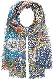 CODELLO Damen Schal 72084711, Blau (Navy Blue 2), One size (Herstellergröße: 70X180 cm)