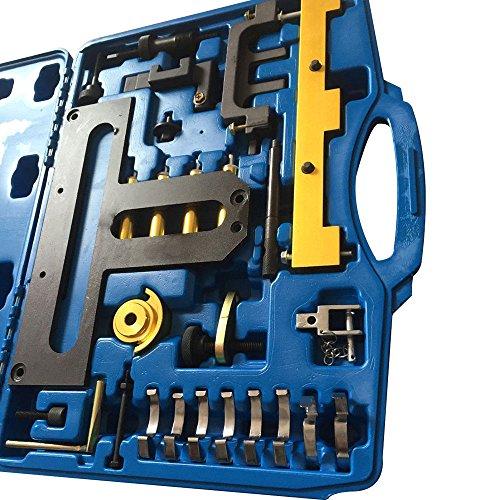 PRIT2016 Professional Kit de distribution Outil de réglage Moteur/Lot avec mallette de transport pour BMW N42, N46, B18/-A, B20/-A/-B