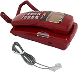 Vepson KX-T555CID Corded Phone (Red)