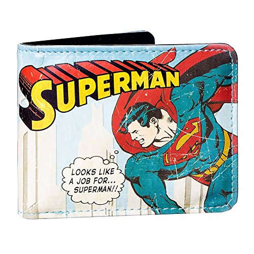 Portefeuille Superman Et Boîte En Métal Collector