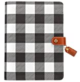 Webster'S pages Buffalo Plaid A5 à anneaux (A5001-bp)