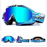 IHRKleid Motorrad Goggle Motocross Wind Staubschutz Fliegerbrille Snowboardbrille Schneebrille Skibrille Wintersport…