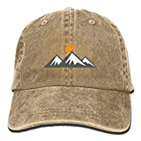 Aoliaoyudonggha IEHFE Men Women Classic Denim Mountain Rise Adjustable Baseball Cap Dad Hat Low Profile Perfect for Outdoor