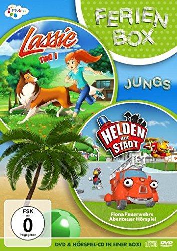 Die Ferienbox für Jungen (Inkl. Lassie DVD & Helden der Stadt CD Hörspiel)