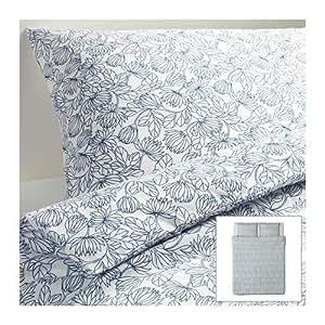 ikea bettw sche set bladvass 220x240cm 3 teilig k che haushalt. Black Bedroom Furniture Sets. Home Design Ideas