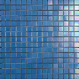 Decostyle Mosaico Decorativo, 4 mm, 32.7 x 32.7 cm, Set de 10 Piezas