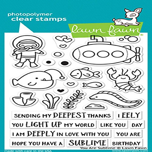 Lawn Fawn Clear Stamps 10cm x 15cm - Boot-fawn