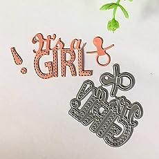 It´s a Girl/Boy Metal Cutting Die Stencil for Scrapbooking Craft DIY Card Making - 1#
