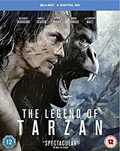The Legend of Tarzan [Includes Digital Download] [Blu-ray] [2016] [Region Free]
