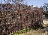 Primrose Flechtzaun aus Weidenmatte 1.8 m