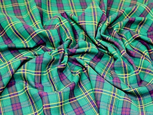 Tartan gebürstete Baumwolle Kleid Stoff Stamford–Meterware