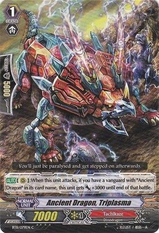 Cardfight!! Vanguard TCG - Ancient Dragon Triplasma (BT11/079EN) - Seal Dragons Unleashed by Bushiroad Inc. (English Femmeual) | Outlet Store