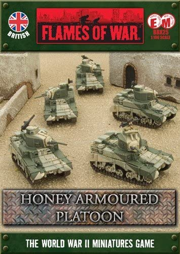 Flames of War Boxed Sets - Honey Platoon Platoon Platoon - FWBBX25 | Porter-résistance  d3b621