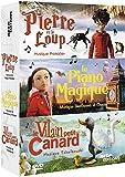 CONTES MUSICAUX - Pierre et le loup + Le piano magique + Le vilain petit canard