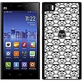 FUNDA CARCASA PARA Xiaomi Mi3 DISEÑO DARTH VADER 4 BORDE NEGRO - D4