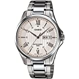 Casio Casual Watch For Men Analog Stainless Steel