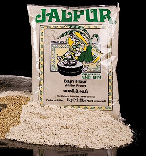 Jalpur Stone Ground Millet Flour (Bajri) 1kg Test