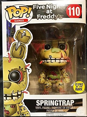 Foto de Funko - Figurine Five Nights at Freddy's - Springtrap Glows in the Dark Pop 10cm - 0889698127080