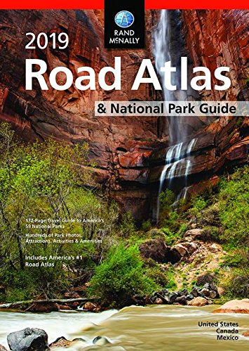 Rand McNally 2019 National Park Atlas & Guide (Rand McNally Road Atlas)